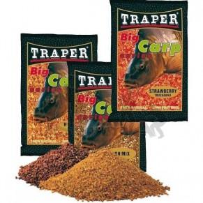Big Carp 1,0kg мед прикормка Traper - Фото