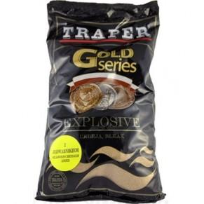 Gold 1кг Explosive красная прикормка Traper - Фото