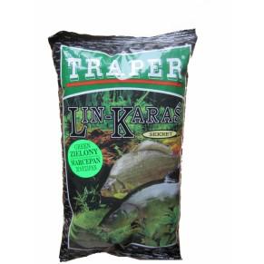 Sekret 1кг линь-карась черная прикормка Traper - Фото