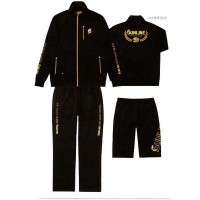 Active Jersey Suit Set STW-0920 LL черный костюм Sunline