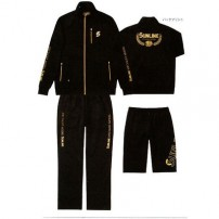 Active Jersey Suit Set STW-0920 LL черный костюм Sunline