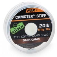 Camotex Dark Stiff 20lb 20m поводочный мате...