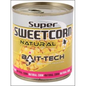 Super Sweetcorn Natural 300g кукуруза Bait-Tech - Фото