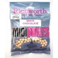 03-18 White Chocolate 10mm Midi Boilies, Handy Packs 225g бойлы Richworth