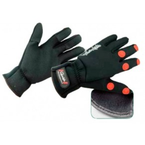 Power Thermal Gloves (2mm neoprene) Size L Перчатки Gamakatsu - Фото