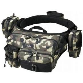 HIP&SHOULDER BAG HD Сamo (камуфляж) сумка Ever Green - Фото