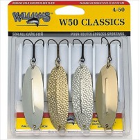 W50 CLASSIC 4 Pack набор блёсен Williams