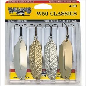 W50 CLASSIC 4 Pack набор блёсен Williams - Фото