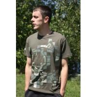 T-Shirt Green L футболка Nash