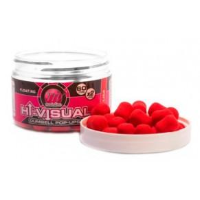 Hi Vis Dumbell Pop-up Red Plum бойлы Mainline - Фото