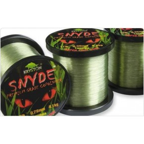 Snyde Premium Grade Copolymer 9 LB 0,28mm 1000m леска Kryston - Фото