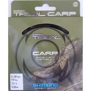 Tribal Carp  300m 0.25mm леска Shimano - Фото