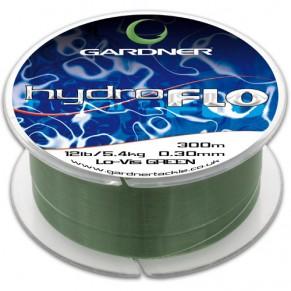 HYDRO-FLO 10lb 4.5kg Green 0.28mm 300m леска карповая Gardner - Фото