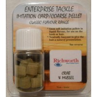 Classic Flavour Range - Richworth Crab & Mussel Pellets 6mm пеллетс Enterprise Tackle