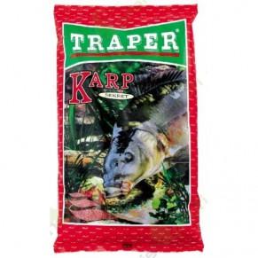 Sekret 1кг карп красная прикормка Traper - Фото