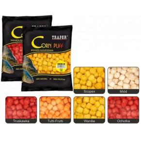 Corn Puff 4mm/20g клубника плавающая кукуруза Traper - Фото