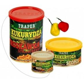 Кукуруза насадочная 125 гр тутти-фрутти Traper - Фото