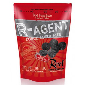 R-Agent and Force Liver Mix 14mm 1kg бойлы Rod Hutchinson - Фото