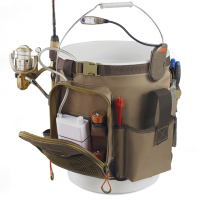 Rigger Lighted 5 Gallon Bucket Organiser Gowildriver