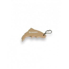 Thirsty Trout Keychain Gold брелок Simms - Фото