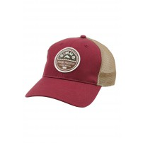Patch Trucker Cap Malbec кепка Simms