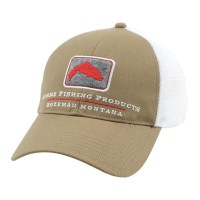 Trout Trucker Cap Coffee кепка Simms
