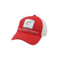 Trout Trucker Cap Scarlet кепка Simms