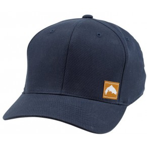 Flexfit Twill Snapback Cap Trout Navy кепка Simms - Фото