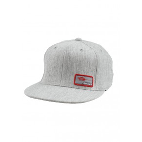Flexfit Patch Snap Back Cap Natural Heather кепка Simms - Фото