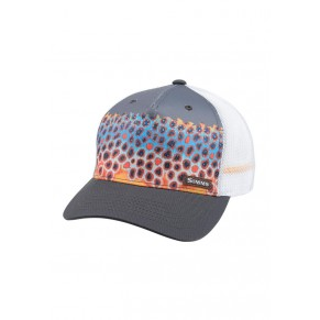 5-panel Trucker Deyoung Trt Charcoal кепка Simms - Фото