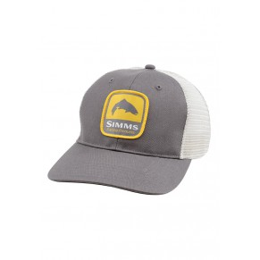 Patch Trucker Cap Charcoal кепка Simms - Фото