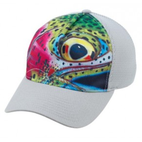 Flexfit Trucker DeYoung Rainbow Trout кепка Simms - Фото