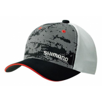 CA-041MBK Basic Cap Black кепка Shimano