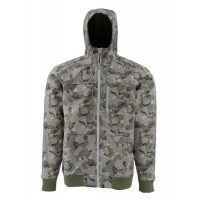 Rogue Flecce Hoody Geo Camo Loden L куртка Simms