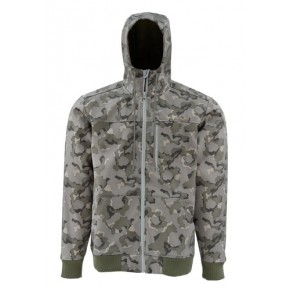 Rogue Flecce Hoody Geo Camo Loden L куртка Simms - Фото
