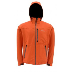Windstopper Softshell Jacket L Fury Orange куртка Simms - Фото