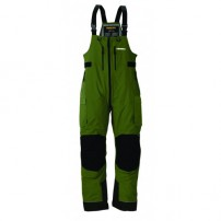 F4 Cyclone Rainsuit Bibs Green/Grey L штаны всесезонные Frabill