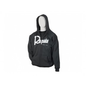 Heavy Weight Zip Hoody Charcoal размер XL толстовка Rapala - Фото