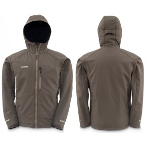 Windstopper Softshell Hoody Black Olive L куртка Simms - Фото