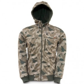Rogue Fleece Hoody Pro Guide Camo L куртка Simms - Фото