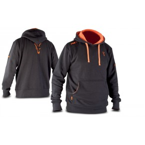 Black & Orange Hoody S толстовка Fox - Фото