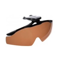 Очки с прищепкой на козырек кепки brown Cormoran