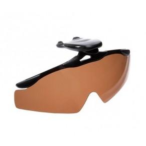 Очки с прищепкой на козырек кепки brown Cormoran - Фото