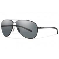 Optics Ridgeway Sunglasses Matte Gold/Polarized Gray Gradient очки Smith