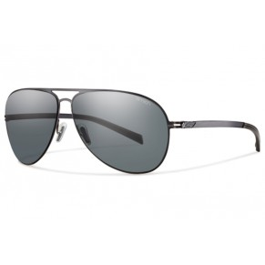 Optics Ridgeway Sunglasses Matte Gold/Polarized Gray Gradient очки Smith - Фото