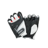 Stretch Fit Glove-3 VAG-09 White-Black LL перчатки Varivas