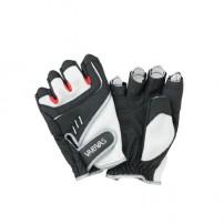 Stretch Fit Glove-3 VAG-09 White-Black LL перчатки Varivas