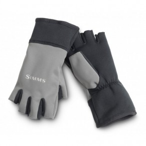 Windstopper Half-Finger Glove Gunmetal L перчатки Simms - Фото