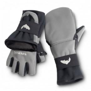 Windstopper Foldover Mitt Gunmetal S перчатки Simms - Фото