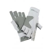 Solarflex Guide Glove Grey L перчатки Simms...